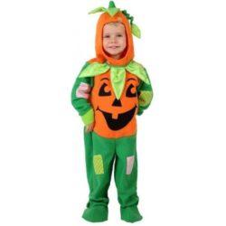 Costume Halloween Citrouille enfant