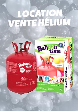 Location/Vente Hélium