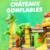 Chateau Gonflable Girafe Anmaux ANniversaire Enfant Amusement