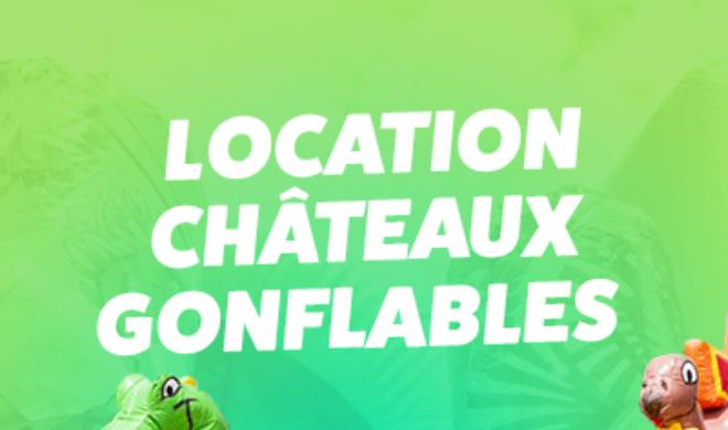 Réservez dés maintenant votre Château gonflable